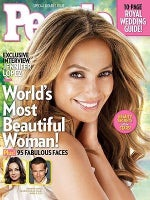 Jennifer Lopez Most Beautiful Woman in the World People Magazine