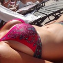 me in bikini at a Vegas pool :)