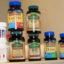 here is aphoto of all the Vitamins i'm taking post op. No more pain killers for me