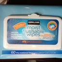 Flushable wipes from Costco for obvious reasons
