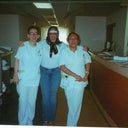 "Day# 3 getting ready to depart hospital for Casa Marino. ""Me and my nurses"""