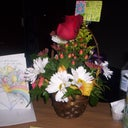 11-1-11 Flowers & Card from Hubby & Daughter :)