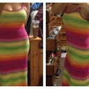 Hubby bought me this dress....Woooohooooo, curves & a flat tummy!!!! I can't wait til it warms up & I can wear it!!!