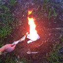 here I am burning one of my padded bras!! lol wont be needing them anymore.