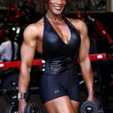 Lenda Murray at 50. I want half of her muscles!...well maybe more lol!